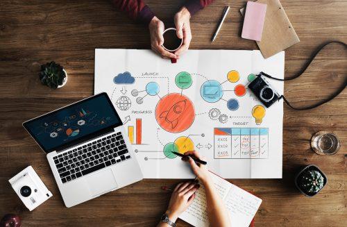 Construção de um infográfico para o marketing digital