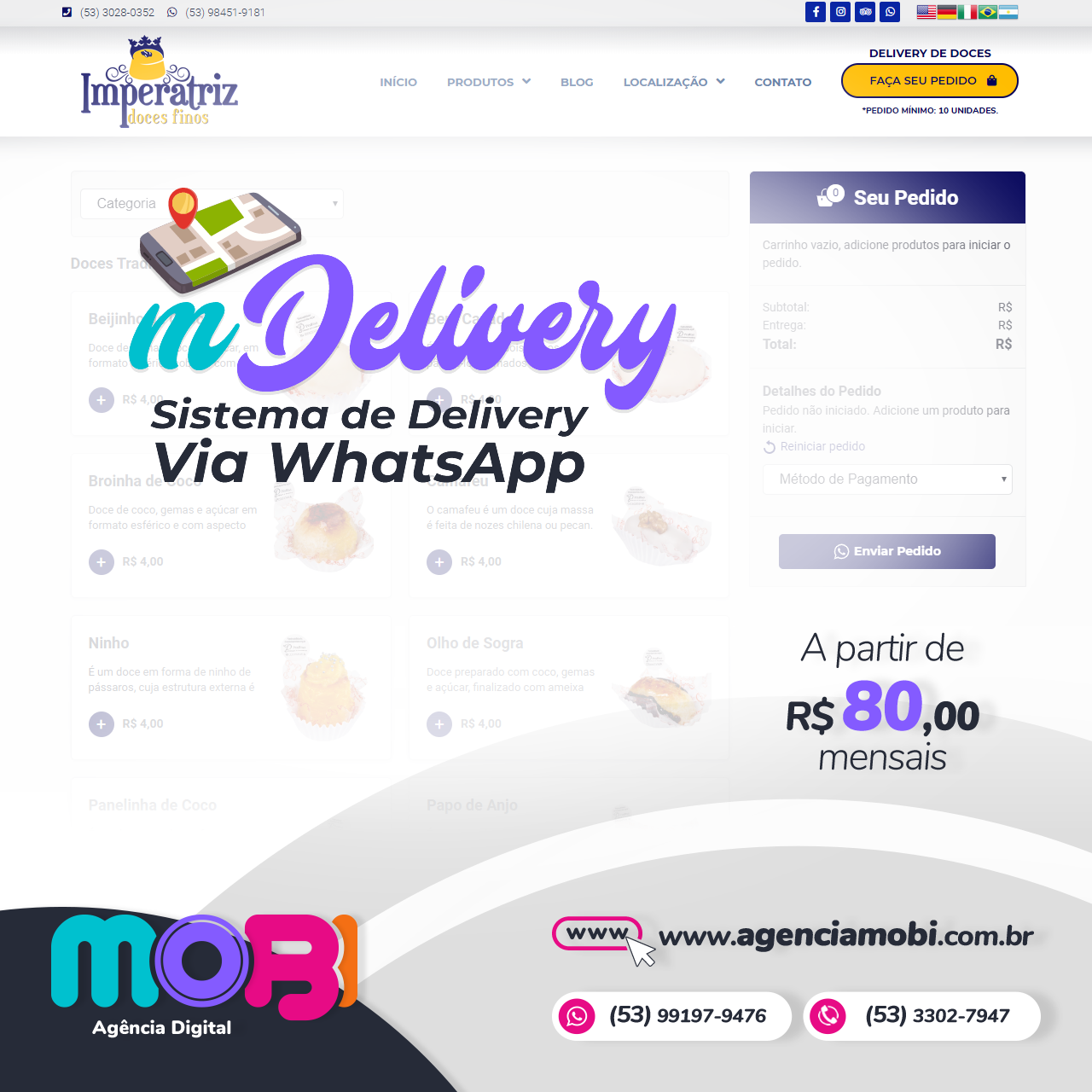 sistema delivery mdelivery