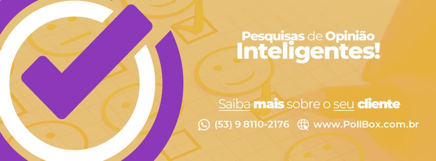 Arte de Capa para Página no Facebook para PollBox - Pesquisas Inteligentes